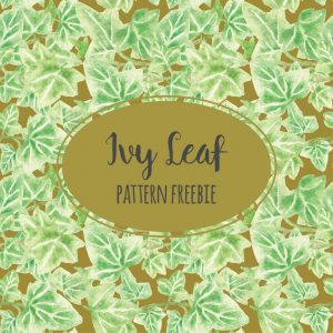 ivy-leaf-pattern-freebie