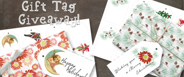 Gift tag giveaway