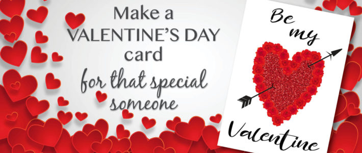 How to make a cute little Valentine's card